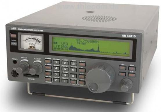 New AOR AR-5001DX Wide Band Receiver ‹ SPARKY's Blog