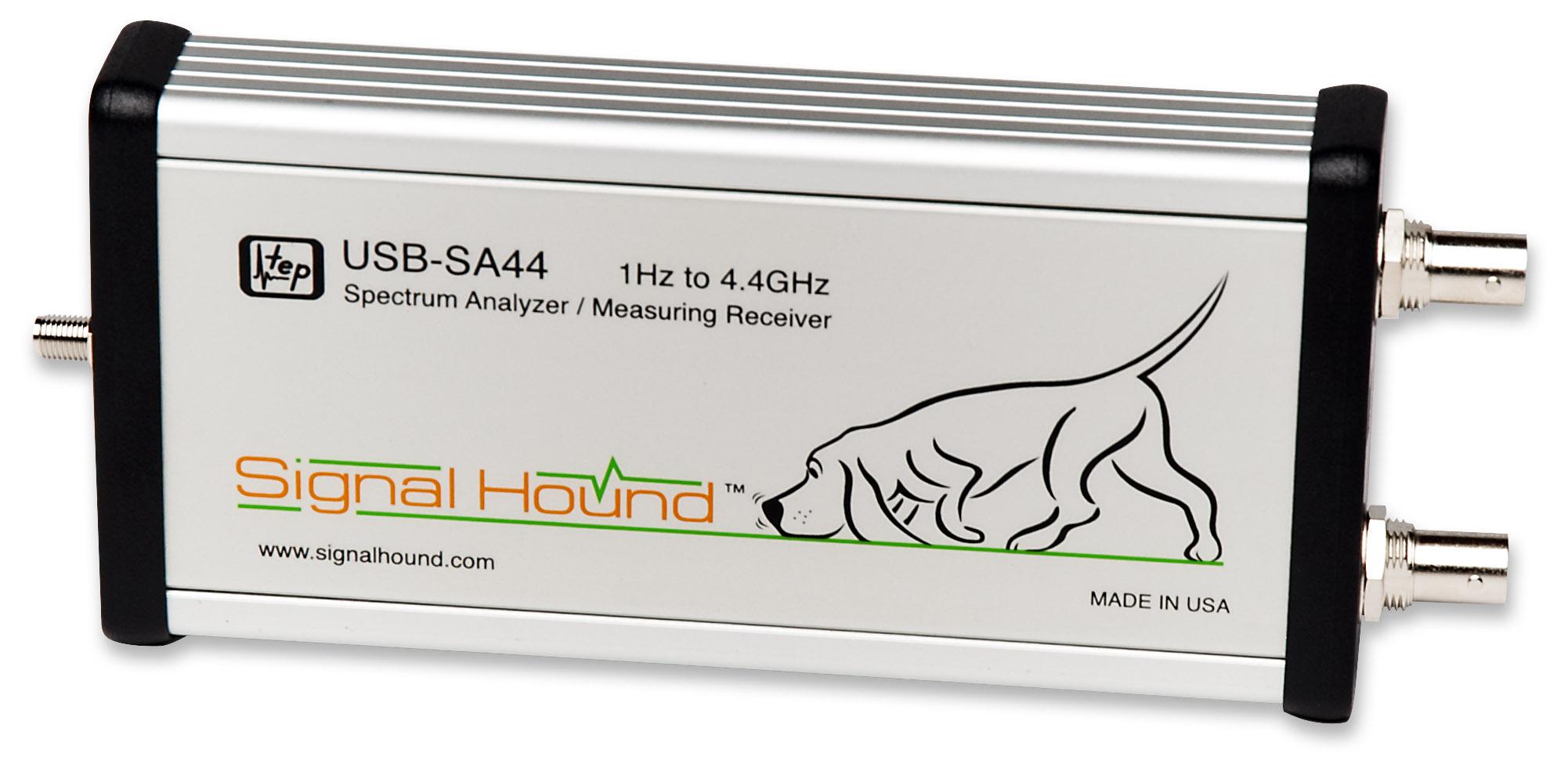 New 4 4 GHz Spectrum Analyzer and Measuring Receiver