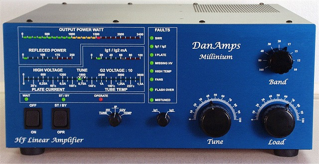 Millinium HF Linear Amplifier ‹ SPARKY's Blog