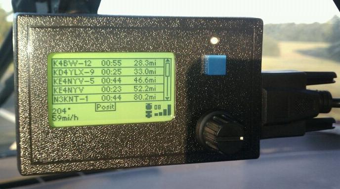 YagTracker – APRS Tracker and Mobile Terminal ‹ SPARKY's Blog