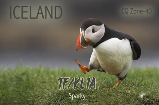 New QSL design ‹ SPARKY's Blog