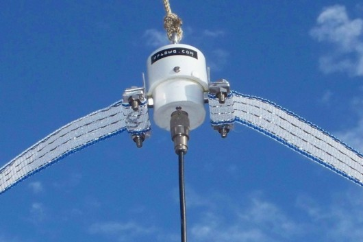Super Broad Band Stainless Steel HF Antenna ‹ SPARKY's Blog