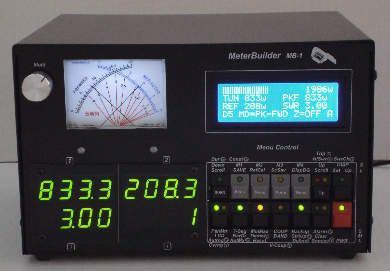 Digital Rf Power Meters : Mb programmable rf power meter ‹ sparky s