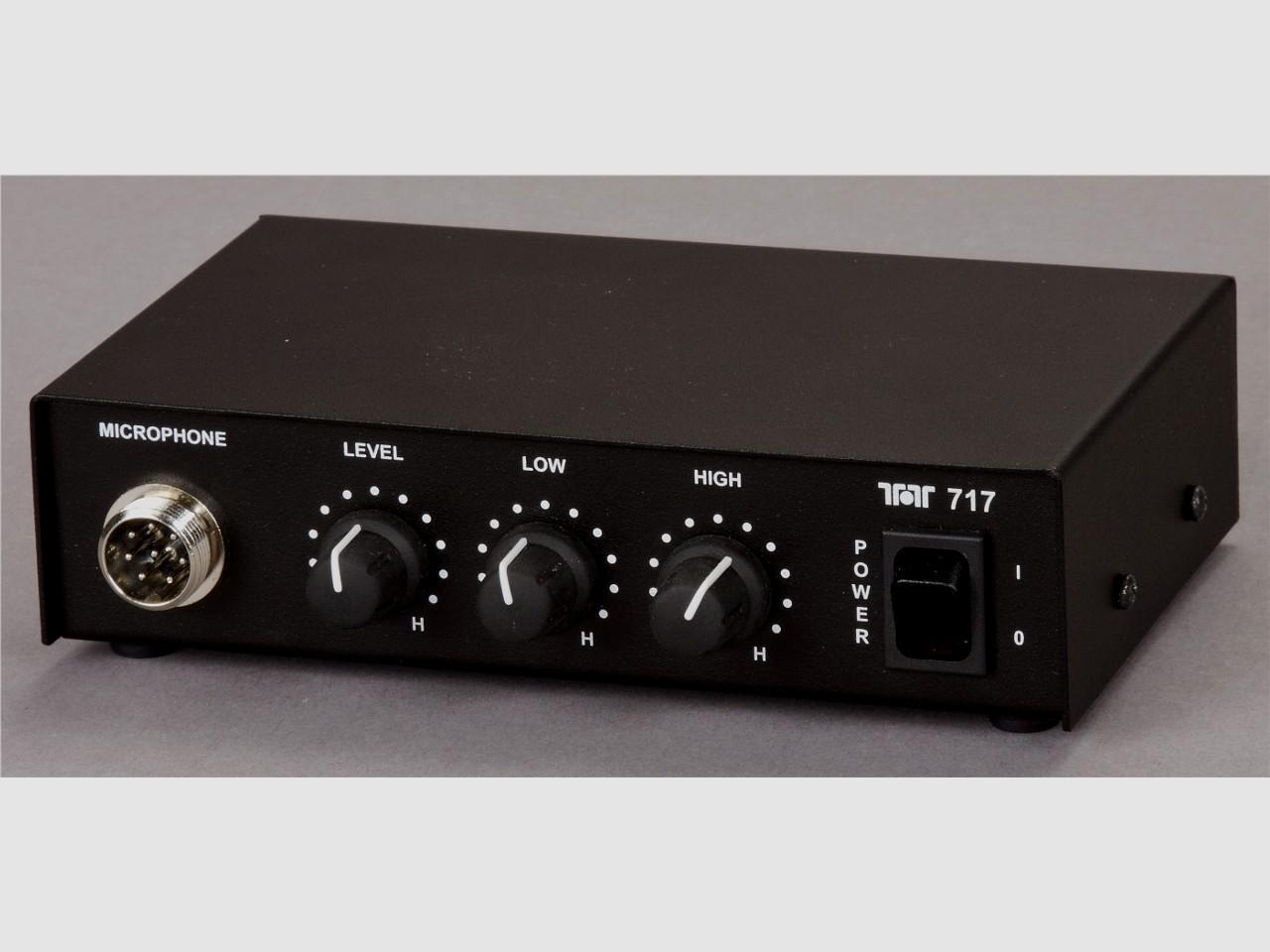 Ten Tec Model 717 Microphone Equalizer Audio Interface Sparkys Blog Ham Radio Mic Wiring Description