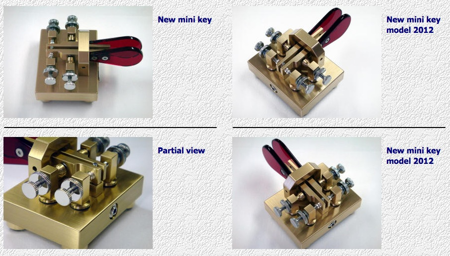 "New I1QOD's ""Mini Iambic"" CW key ‹ SPARKY's Blog"