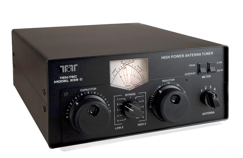 Ten-Tec 238C High Power Antenna Tuner ‹ SPARKY's Blog