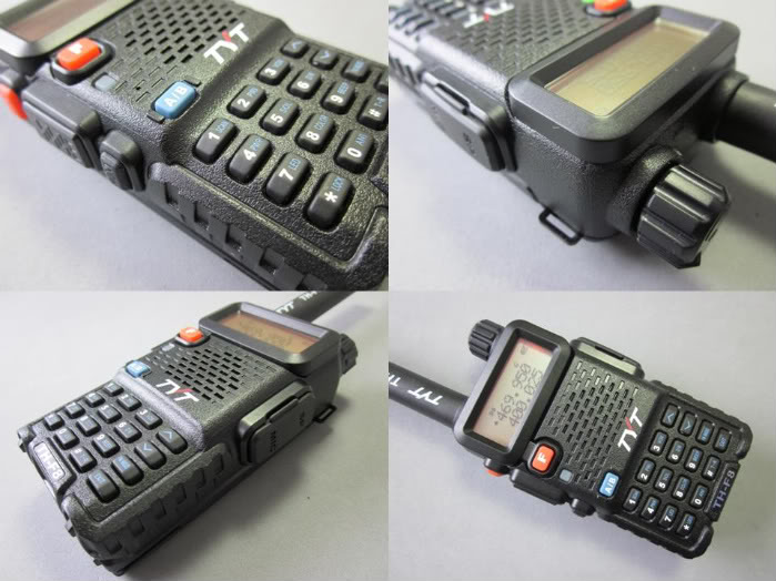 TH-F8 is a well-received amateur radio and it is good looking, ...