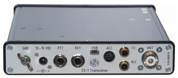 ZS-1 SDR Transceiver updated.