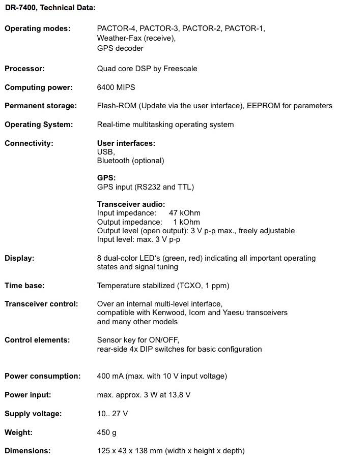 SCS P4dragon DR-7400 Modem ‹ SPARKY's Blog