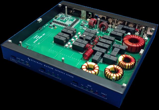 Elecraft KAT500 High-Power Auto-Tuner & Smart Antenna Switch