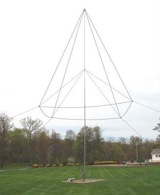 DX Engineering 160m THUNDERBOLT™ Vertical Antennas 160VA-1
