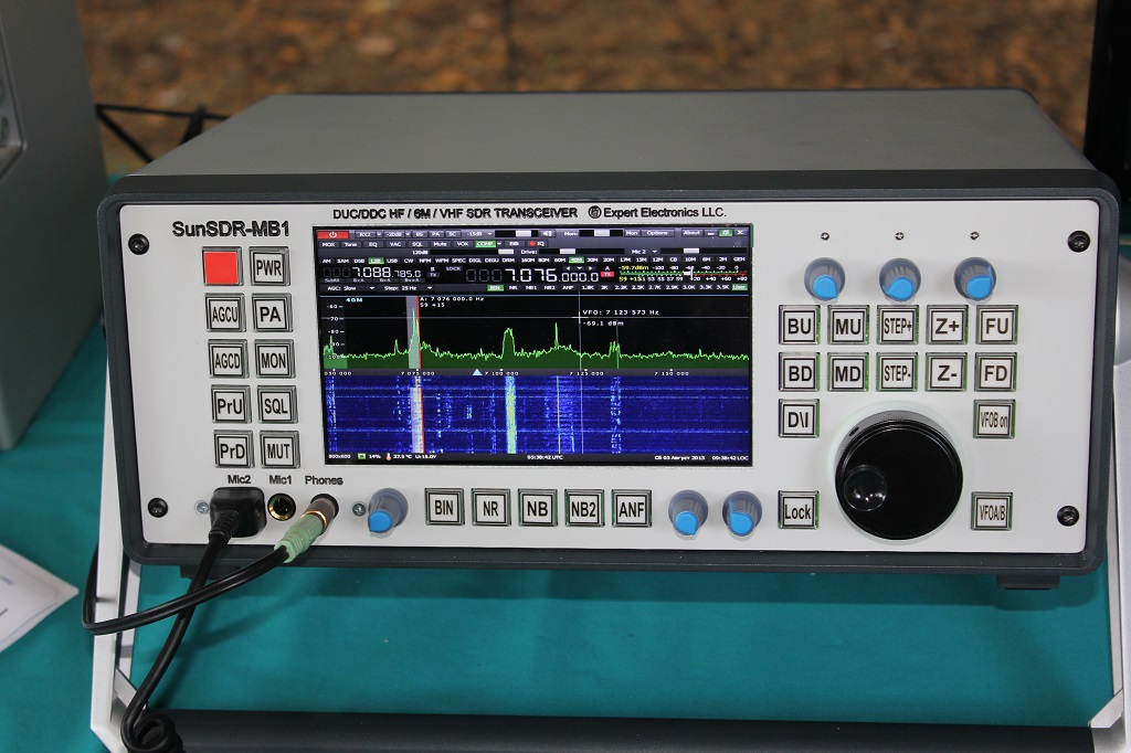 Stand Alone SDR Transceiver SunSDR-MB1 ‹ SPARKY's Blog