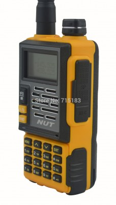 2014a-New-NUT-AT-828UV-Walkie-Talkie-UHF400-480MHz-VHF136-174MHz-Dual-Band-6W-128CH-Portable