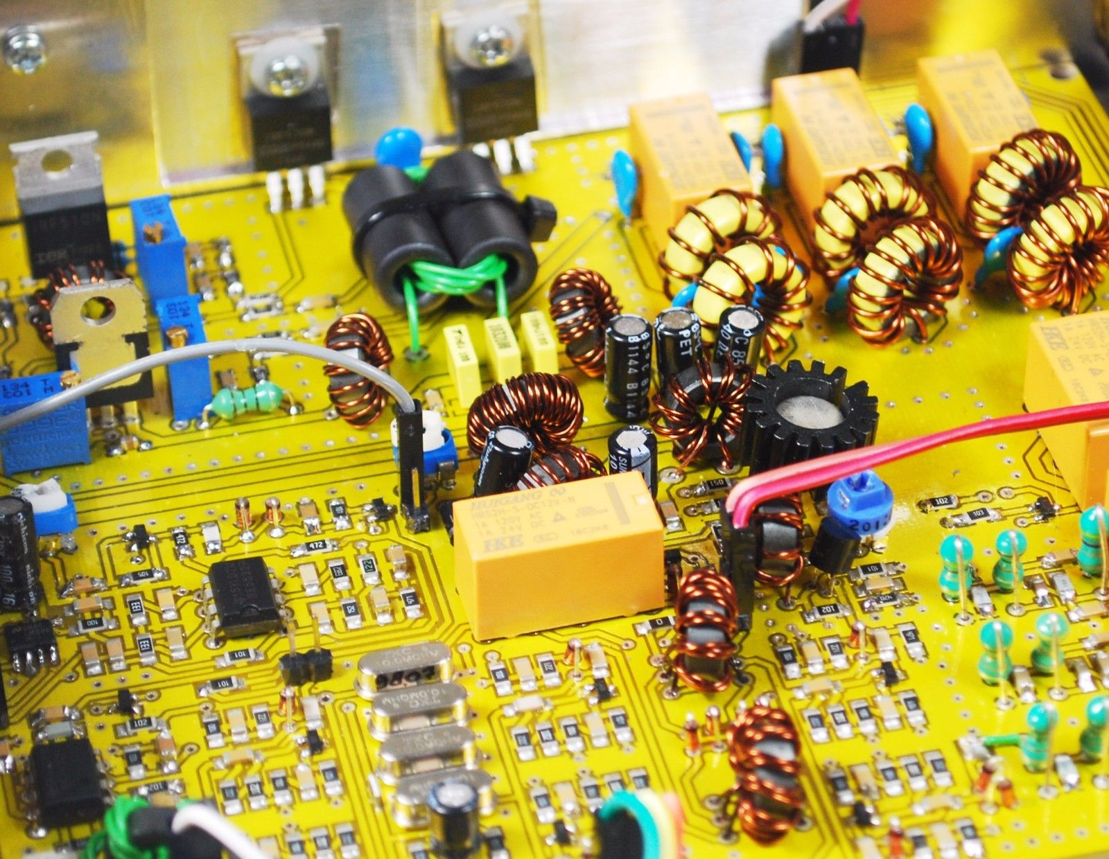 DYI – 4 Bands HBR4HF 4 Band HF Transceiver ‹ SPARKY's Blog