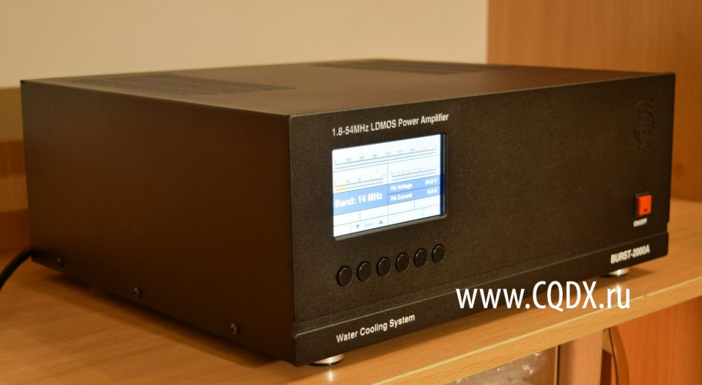 BURST-2000A LDMOS Power Amplifier ‹ SPARKY's Blog