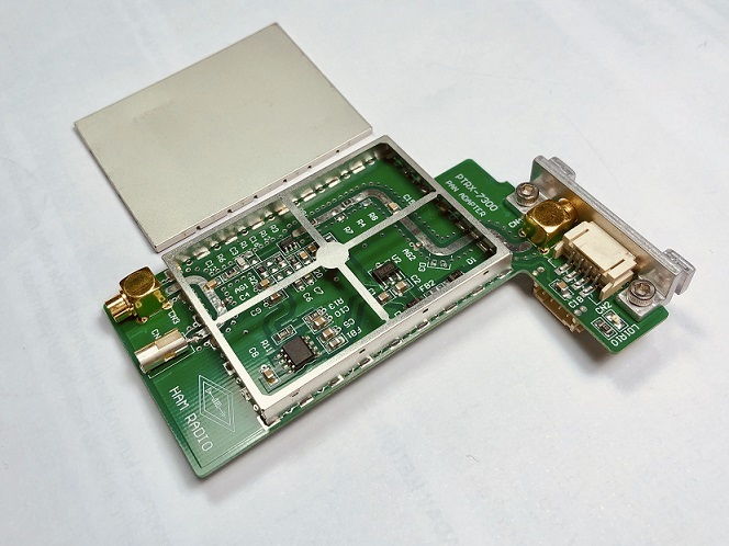 PTRX-7300 Panorama Adaptor for the IC-7300 ‹ SPARKY's Blog